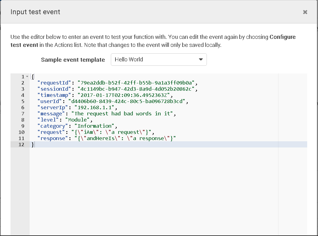lambda test step 2